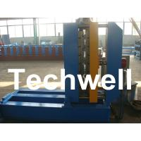 Quality 0.3 - 0.8mm Material Thickness Roof Sheet Crimped Curving Machine With PLC Control System wholesale