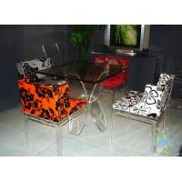 Quality acrylic high top bar tables and chairs wholesale