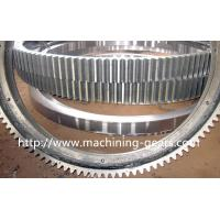 Quality Polishing Large Diameter Engine Ring Gear / Industrial Custom Spur Gears For Machinery wholesale