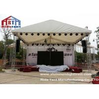 Outdoor Lightweight Concert Truss System Light Frame Hand Hoist Easy To Assemble