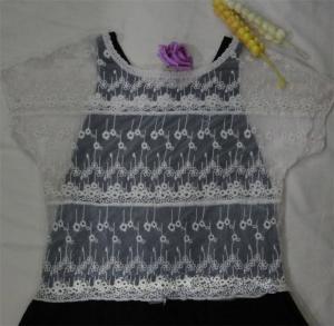 China black lace blouse designs,white mesh lace vest on sale