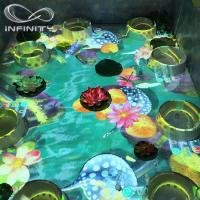Quality Children Playground 3D Interactive Floor Projector , Infinity Interactive Floor Projection System wholesale