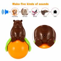 Quality Inventions Pet Tumbler Toy Sound And Light Ball five kinds of sounds wholesale