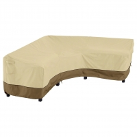 Quality Polyester Fabric L286cm W222cm Outdoor Sofa Cover Waterproof , Sectional Sofa Cover Durable wholesale
