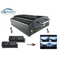 Quality 720P HD 3G Mobile DVR with 4CH Mobile DVR CMS platform for CIty Bus wholesale