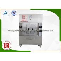 Quality Silvery / Black Stainless Steel 2 Spaces Electric Fish Grill Machine 380V / 10.8KW wholesale