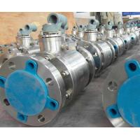 Quality Cast Steel Floating Ball Valve Blowout Proof Stem Reduced Bore Nace MR-01-75 wholesale