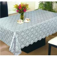 China Silver and Golden PVC Table Linen on sale