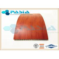China Fire Proof Honeycomb Wall Panels With HPL High Pressure Laminate Partition Use on sale