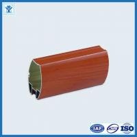 China Warehouse rack / industrial automation extruded aluminum profiles with round angle on sale
