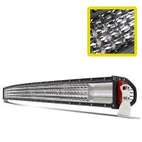Quality Emark 12D 52 inch Curved  jeep  cree Led light Bar 12 volt Off road Driving Truck  Light wholesale