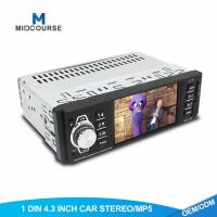 Quality Universal Single Din Multimedia Player Mp5 Video Player Mp4 Mp3 Radio With Bluetooth USB AUX wholesale