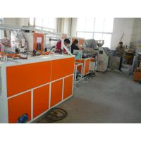 Quality pe pp pvc pa single wall corrugated hose making machine extrusion line production for sale wholesale