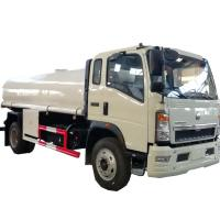 Quality HOT SALE! HOWO 4*2 LHD/RHD 10,000Liters stainless steel material portable water tanker truck, cistern tanker truck wholesale