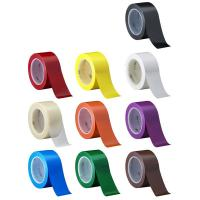 China 3M 471  Electrical Insulation Tape For Floor caution Tape Blue PVC Vinyl Rubber Adhesive on sale