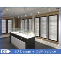 Quality Modern Attractitve Showroom Display Cases for Jewellery Showroom Pre - Assembly wholesale