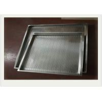 Quality 304 Stainless Steel Wire Mesh Tray With Rectangular For Filtering wholesale