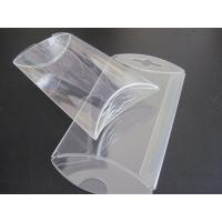 Quality gift box wholesale clear PVC box small pillow shape die cut  box wholesale