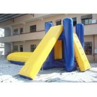 Quality Durable Water Slides / Inflatable Slide Water Beach / Inflatable Floating Water Slide wholesale