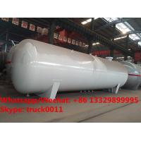 China 2019s customized high quality 55,000Liters bullet stationary surface propane gas storage tank for sale, lpg gas tank on sale