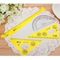 Quality Sale High Quality Plastic Big Set Square 18cm Triangle Scale Ruler wholesale