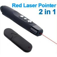Quality Office Red Multicolor Laser Pointer With 23A Battery No PC Programming wholesale