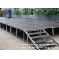 Buy cheap Adjustable Height Portable Collapsible Stage / Performance Stage Plywood Board from wholesalers