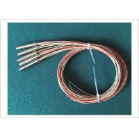 Quality 240V 150W High Watt Density Cartridge Heaters Built In Type J Thermocouple Wire for sale