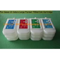 Quality 700ml Empty Dye ink Canon Printer Ink Cartridges , Canon IPF8000 Ink Cartridge wholesale