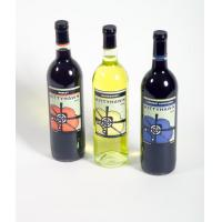China custom wine bottle labels on sale
