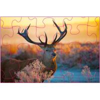 Quality Educational Kids 3D Puzzle Games / 3D Lenticular Printing Jigsaw Puzzles wholesale