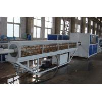 Low Noise Pvc Pipe Manufacturing Machine , Plastic Pipe Production Line Stable