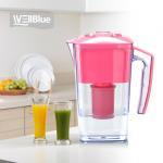 Quality 2.5L Slim Alkaline WellBlue Alkaline Water Filter Pitcher PH 9.5 BPA-Free wholesale