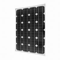 China Mono-crystalline Silicone Solar Panel Module with 1.8A Short-circuit Current and 55Wp Maximum Power on sale
