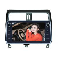 Quality Toyota Prado 2018 Android Car DVD Player 10.1 Inch GPS Android Version 8.0x wholesale