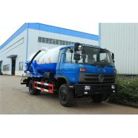 Quality 10 Ton Suction Sewage Truck Dongfeng 170hp 10m3 Vacuum Sewer Suction Tanker wholesale