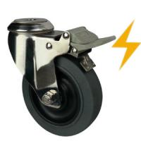 Quality stainless steel esd caster wheels bolt hole wholesale