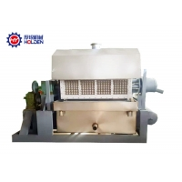 Quality 4 Sides Rotary Small 3000pcs/Hr Egg Tray Making Machine wholesale