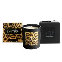 Quality 100% Natural Organic Handmade Jar Candles Scented Soy Wax Candle Leopard Printing wholesale
