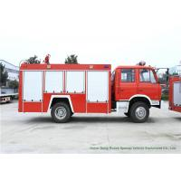 DFAC Water Fire Truck With Water Tank 6000 Liters 4x2 / 4x4 Off Road For Fire Fighting