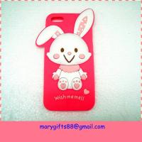China Amazing cartoon animal shape cell silicone phone case on sale