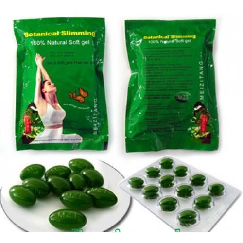 Cheap Safest Female Herbal Weight Loss Pills Meizitang Botanical Slimming Soft Gel MZT for sale
