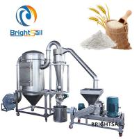China High Efficient Rice Powder Grinding Machine , Fine Wheat Flour Milling Machine on sale