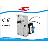 Quality Gear Box Shaded Pole Motor For BBQ Machine , Skimmer , Massager , Pellet stove wholesale