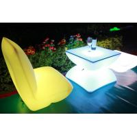 Quality Illuminated Rechargeable LED Tables And Chairs With 4000 Mah Lithium Battery wholesale