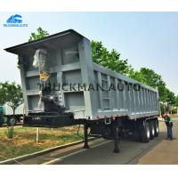 China High Capacity Dump Semi Trailer 3 Axles 60 Tons  For Construction And Mining Site on sale