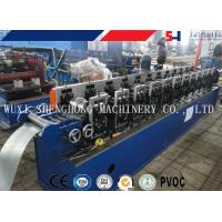 High Capacity PLC Control Metal Door Shutter Door Cold Roll Forming Machine , Sheet Metal Roll Former