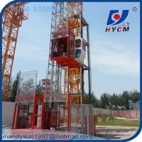 Quality 1ton Single Cage Construction Hoist with 3 Phase Motor for High Building wholesale