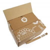 Quality Custom Printed Corrugated Shipping Boxes , Durable Fruit Packaging Boxes wholesale