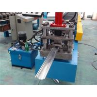 Quality Chain Driven Door Frame Roll Forming Machine PLC control 128mm Coil width wholesale